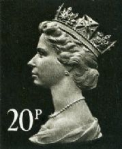 20p Cheap GB Postage Stamp